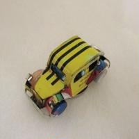 マグネット ミニカー ブリキ缶リメイク(マダガスカル)⑨【郵便お届け】