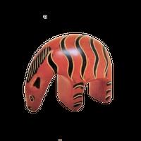 動物置物 シマウマ ソープストーン(ケニア)