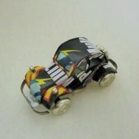 マグネット ミニカー ブリキ缶リメイク(マダガスカル)②【郵便お届け】