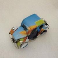 マグネット ミニカー ブリキ缶リメイク(マダガスカル)⑫【郵便お届け】