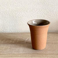 笠間焼 / 焼締のタンブラー(くるみ)
