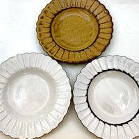 笠間焼 / 菊皿