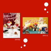 nanoblock®ポストカード  クリスマスセット(4)