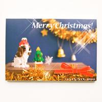 【NP023】nanoblock®クリスマスカード 〜キャバリア〜