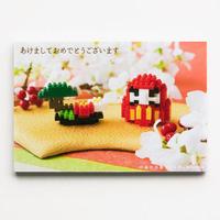 【NP051】nanoblock®年賀状 〜ダルマ〜