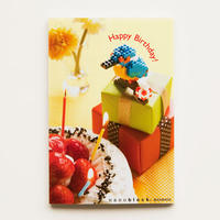 【NP040】nanoblock®ポストカード 〜カワセミ〜