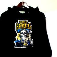 復活!!大豪族魔人 パーカー Revive the big  clan hoodie
