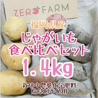 じゃがいも食べ比べセット1.4kgジャガイモ