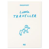 LITTLE TRAVELLER blue | Passport cover