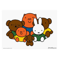 ALL TOGETHER | Miffy A2 poster