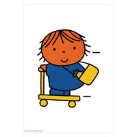 SCOOTER | Miffy A2 poster