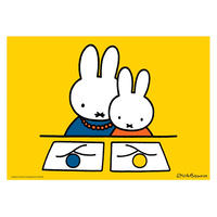 MOTHER & DRAWING | Miffy A2 poster