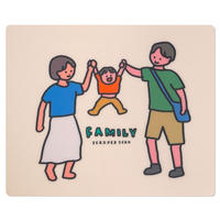 FAMILY JUMP | Mouse pad