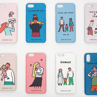 PHONE CASE (HARD CASE) - FAMILY/COUPLE series / for iPhone 7|8 & SE2(受注生産商品)