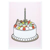CREAM CAKE2 | A3 RISO poster(受注生産商品)