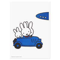 FAMILY TRAVELLING | Miffy A3 RISO poster