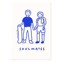 COUPLE (SOULMATES) | B6 note