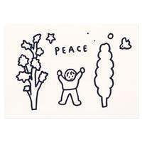 PEACE | Pressed Card