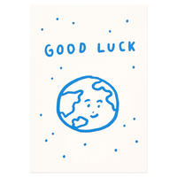 GOOD LUCK | Pressed Card