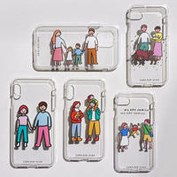 PHONE CASE (JELLY CASE) - FAMILY/COUPLE series / for iPhone X|XS(受注生産商品)