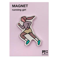 RUNNING GIRL | Magnet