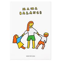 MAMA BALANCE   A3 RISO poster(受注生産商品)