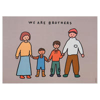 FAMILY OF FOUR 4 (BROTHERS) | A3 poster(受注生産商品)