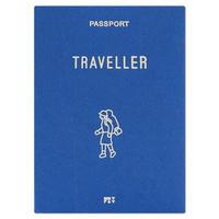 TRAVELLER blue | Passport cover
