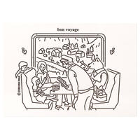 TRAIN TRIP | Pressed Card