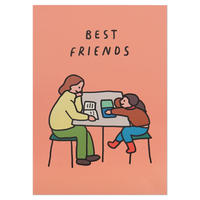 BEST FRIENDS   A3 poster(受注生産商品)