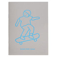 SKATEBOARD BOY gray | Passport note