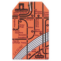 PARIS1 | Luggage Tag