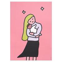 HUG (OFFSET) | A3 poster(受注生産商品)