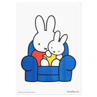 MIFFY & BABY | Miffy A3 RISO poster
