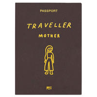 MOTHER brown | Passport cover