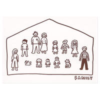 BIG FAMILY | Pressed Card