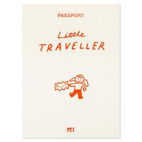 LITTLE TRAVELLER orange | Passport cover