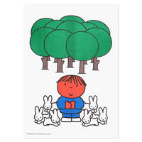 FOREST   Miffy A3 RISO poster
