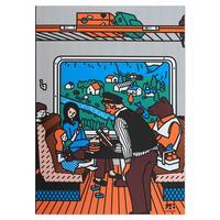 TRAIN (FLAM) | A5 note