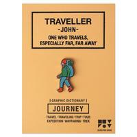 TRAVELLER JOHN | Pin