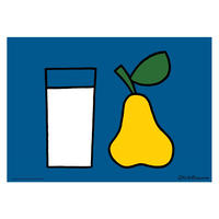 MILK& PEAR | Miffy A2 poster