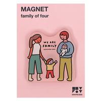 FAMILY OF FOUR | Magnet