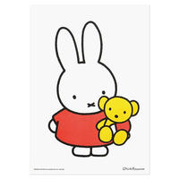 MIFFY & TEDDY BEAR | Miffy A3 RISO poster