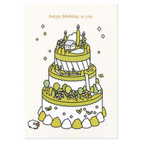 GREEN TEA CAKE | Cake card