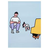 CAT | A3 poster(受注生産商品)