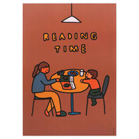 READING TIME | A3 poster(受注生産商品)