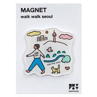WALK WALK Seoul | Magnet
