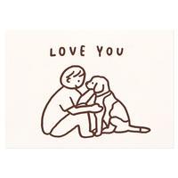 DOG (LOVE YOU) | Pressed Card