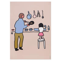 COOKING (OFFSET) | A3 poster(受注生産商品)