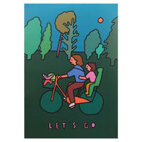 BICYCLE   A3 poster(受注生産商品)